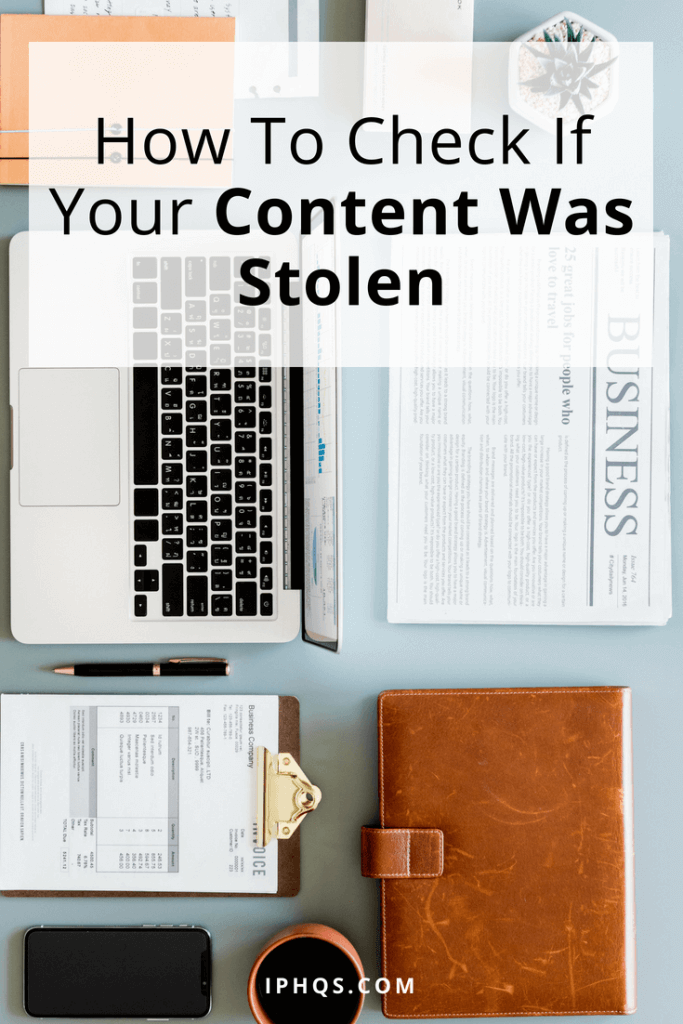 If you're making content online, you'll want to be able to figure out if your content was stolen. Here are tools you can use!