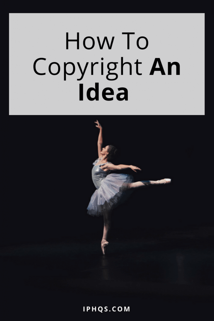 To register a copyright on anything at all is to copyright an idea--but this post talks more about things like choreography, speeches, and other ephemeral forms of content.