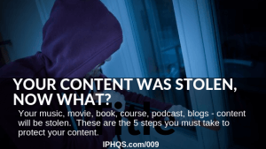 What to do when someone steals your online content