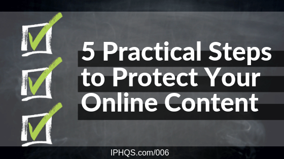 Protect Online Content