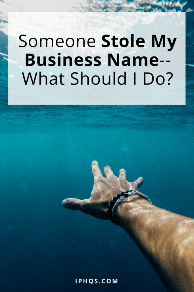 "You've been working your butt off to brand yourself, and then one day you see a copycat and think, ""Someone stole my business name! What should I do?"" This post walks you through your options."