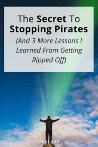 If you've ever had your content stolen, you've probably wanted the secret to stopping pirates. Well, here's mine--after years of experience in getting ripped off!